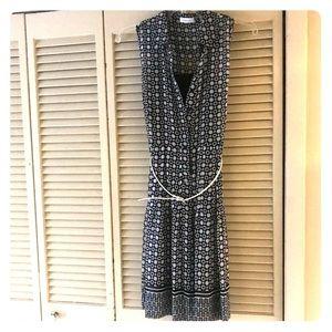 Calvin Kline Black/White Dress